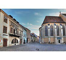 Sopron street III Photographic Print