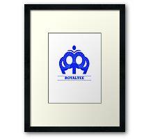 Royaltee Framed Print