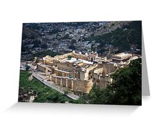 Amer palace Greeting Card