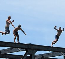 bridge jumpers by Anne Scantlebury