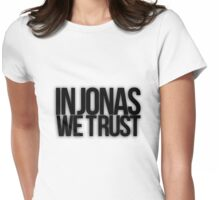 In Jonas We Trust Womens Fitted T-Shirt