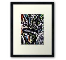 ravine... mind crossing Framed Print