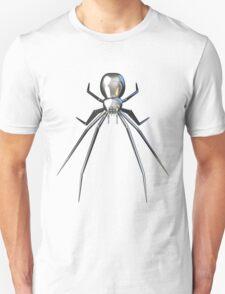 Chrome black widow design2 Unisex T-Shirt