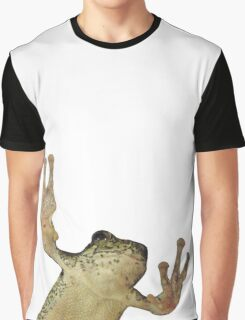 Frog On Glass Graphic T-Shirt