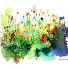 Wildflowers by arline wagner