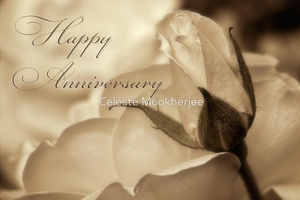Romance in  sepia - Anniversary by Celeste Mookherjee