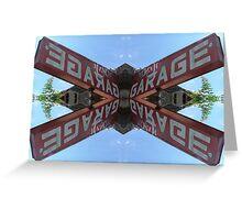 Garage Inc. Greeting Card
