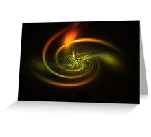 Abstract digital art photo Greeting Card
