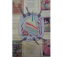 Rainbowcake  Photographic Print