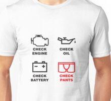 CHECK PANTS Unisex T-Shirt