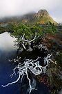 Highlands Tarn and Cradle Peaks by Robert Mullner