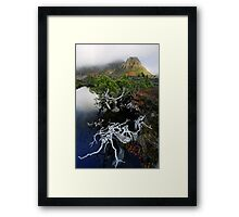 Highlands Tarn and Cradle Peaks Framed Print