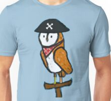 The Pirate Owl Unisex T-Shirt