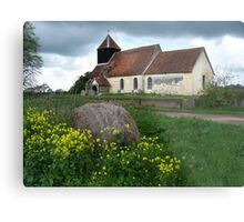 St John's Church, Farley Chamberlayne Metal Print
