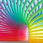 Rainbow Slinky 5 by Steve Purnell