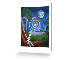 Dream Valley Greeting Card