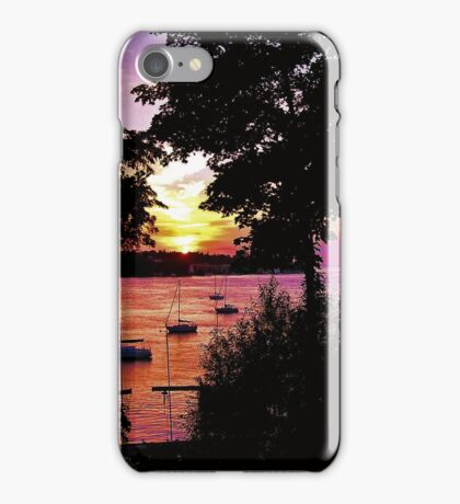 Sunset No 47 iPhone Case/Skin