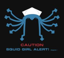 CAUTION Squid Girl Alert! degeso~ Kids Clothes