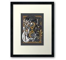 Time of Steam: The Day and The Night Framed Print