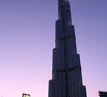 Burj Khalifa Dusk by Dannel Sargent