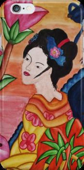 Geisha by 0ngaku