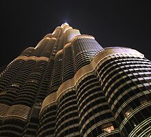 Burj Khalifa up close and personal by Dannel Sargent