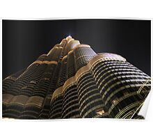 Burj Khalifa up close and personal Poster