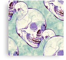 Keeping it Skully Canvas Print