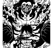 Luffy Gear 4 Transformation by Mike Bronson