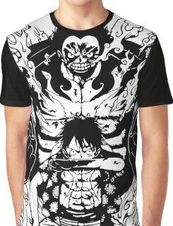 Luffy Gear 4 Transformation Graphic T-Shirt