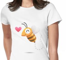 Bee in Love Womens Fitted T-Shirt