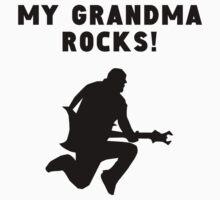 My Grandma Rocks Kids Tee