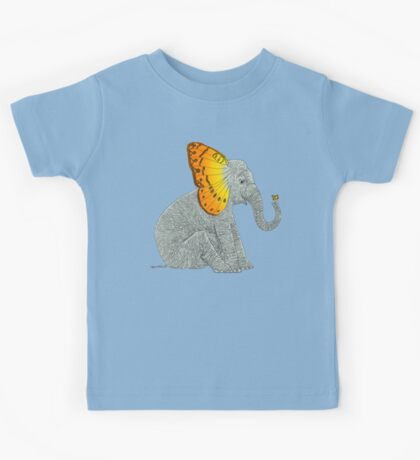 Elephant and Butterfly Kids Clothes