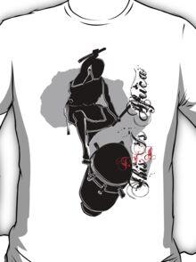 African Drummer III T-Shirt