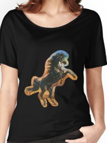stallion tee Women's Relaxed Fit T-Shirt