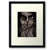 Insomnia 2 - Sepia Framed Print