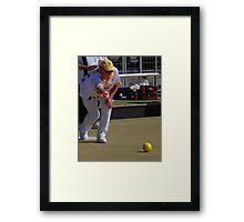 M.B.A. Bowler no. a222 Framed Print
