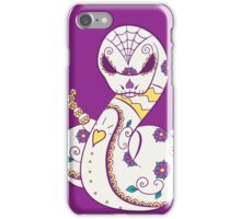 Ekans Pokemuerto | Pokemon & Day of The Dead Mashup iPhone Case/Skin