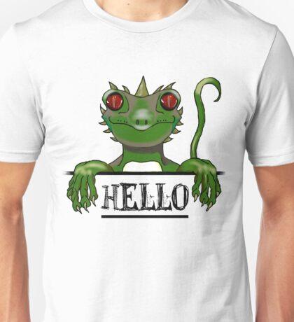 Monster say hello modern gifts Unisex T-Shirt