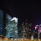 Singapore Skyline by muzy