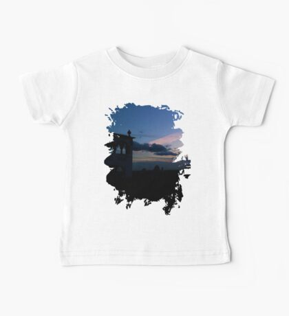 Sky and Architecture Baby Tee