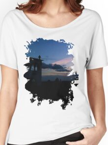 Sky and Architecture Women's Relaxed Fit T-Shirt