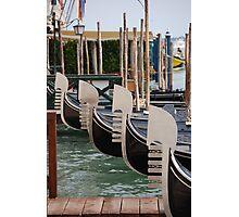 Gondole Di Riposo Photographic Print