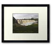 Hopkins Falls Framed Print