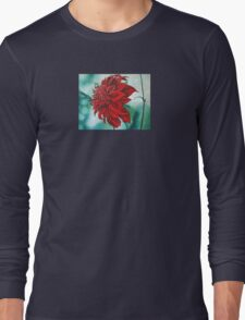 Red in Fury Long Sleeve T-Shirt