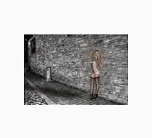 Fantasy Girl On Cobbled Street Unisex T-Shirt
