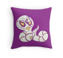 Arbok Pokemuerto | Pokemon & Day of The Dead Mashup Throw Pillow