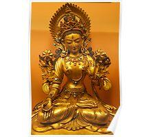 Tibetan Buddha image, 17-18th Century, Patan Museum, Nepal Poster