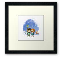 Caroling Parrish&Lydia Framed Print