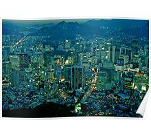 Dusk in Seoul Poster